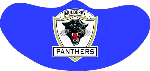 Mulberry Panthers  Mask Single Mascot
