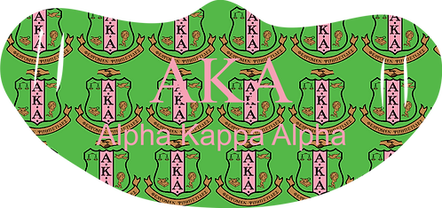Alpha Kappa Alpha Mask With Symbols