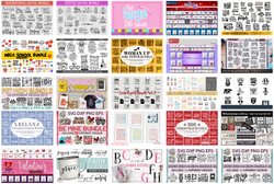 mega clipart bundle