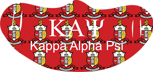 Kappa Alpha Psi Mask With Symbols