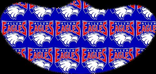 Allen HS Mask Collage  Logo