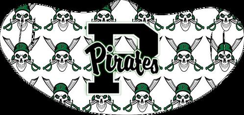 Mesquite Poteet Pirates HS Mask Skeleton