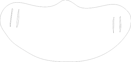 Blank White Mask