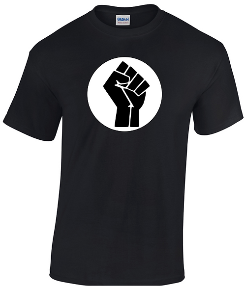 Black Power T-shirt with background