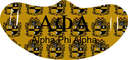 Alpha Phi Alpha Mask With Symbols