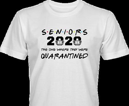 senior  2020 mask quarantined