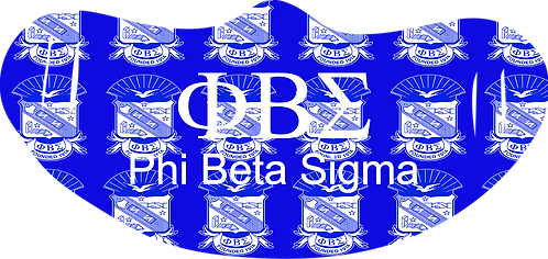 Phi Beta Sigma Mask With Symbols