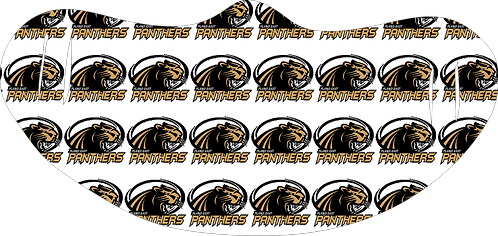 Plano East Panthers with writing
