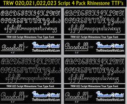 TRW Script 4 Pack (020,021,022,023) Rhinestone TTF True Type Fonts (Regular) _ B.png