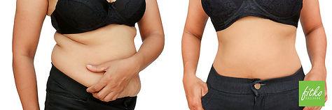 žena po hubnutí předtím a potom foto