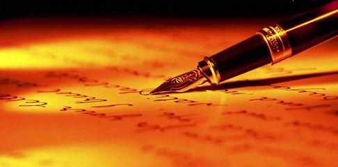 Une calligraphe au service de votre entreprise