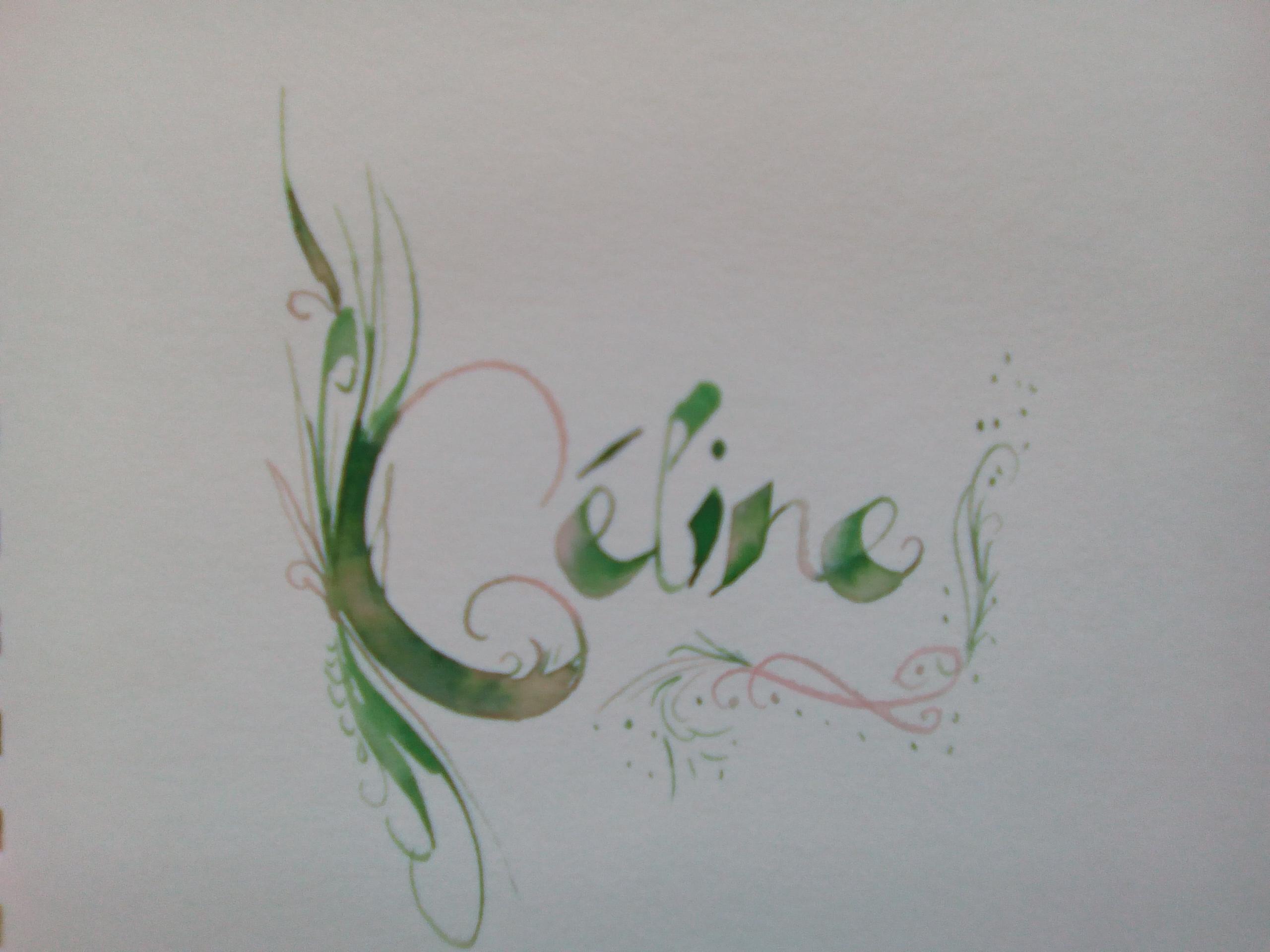 Calligraphie fantaisie