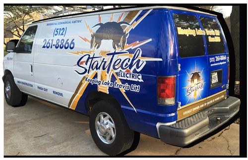 Startech Electricians service van