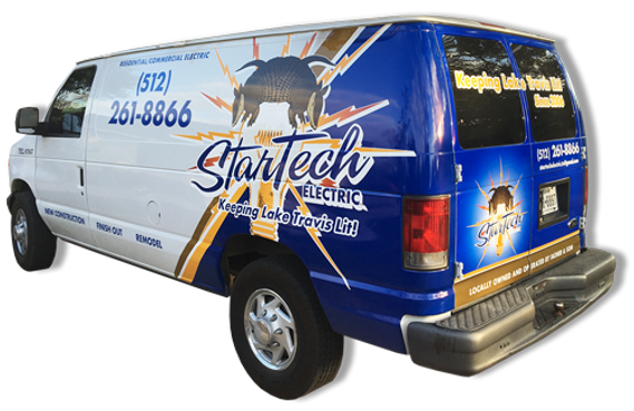 StarTech Electric Logo Van