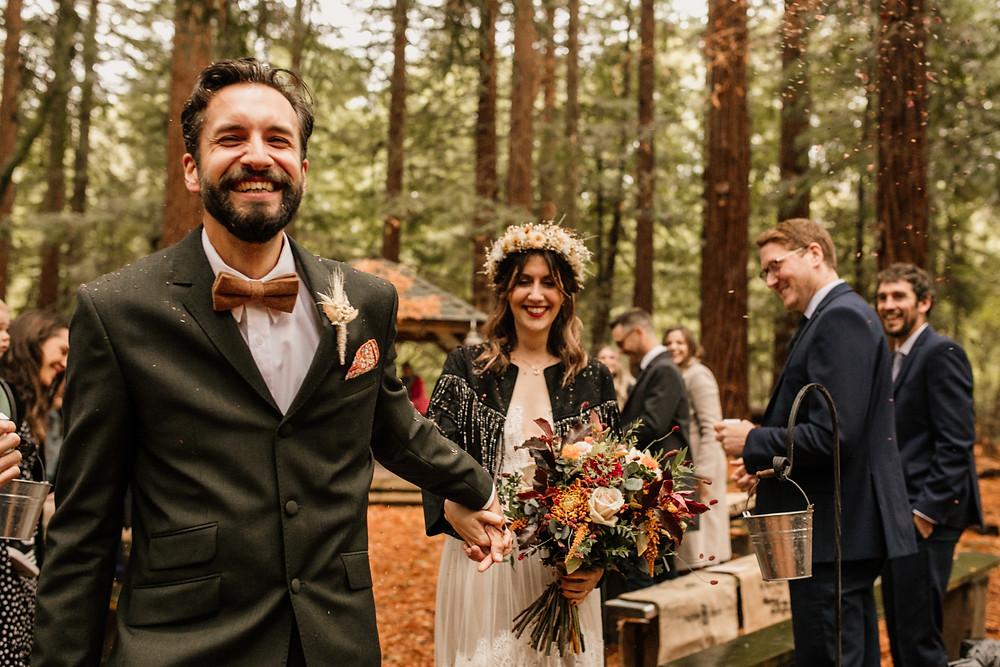 Woodland Micro Wedding Two Woods Estate
