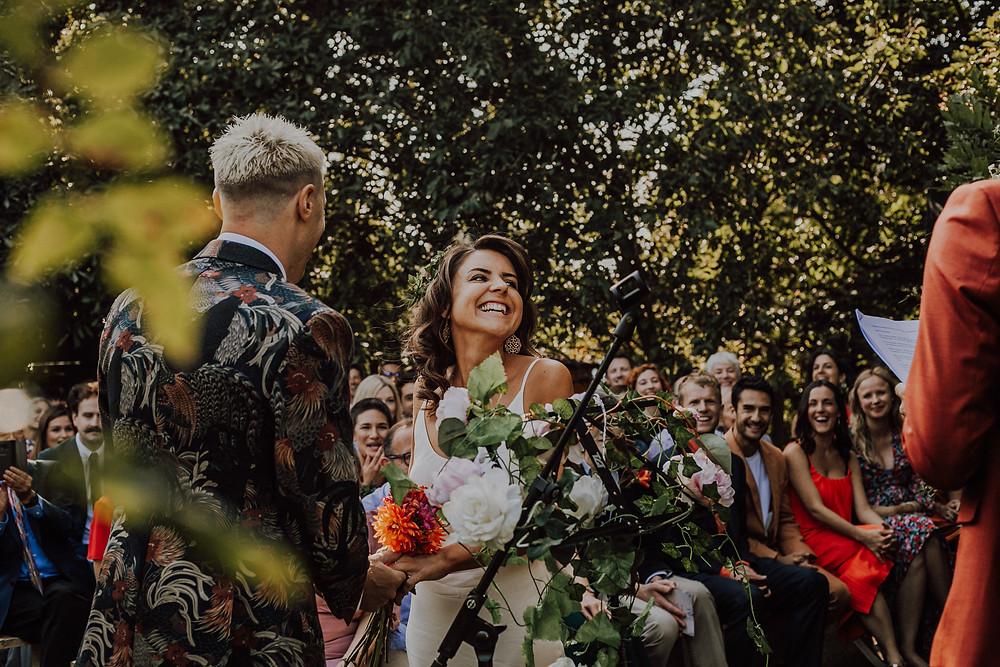Leah Marie Photography Boho Garden Wedding