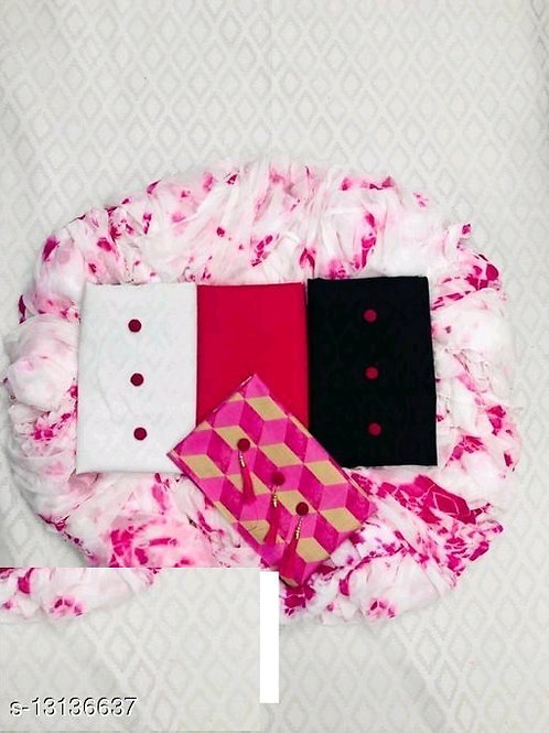 Attractive Lakda Cotton Women's Suits & Dress Materials 1 Top