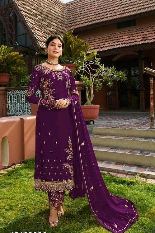 Alisha Attractive Semi-Stitched Suits
