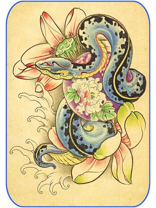 Snake Tattoo-23