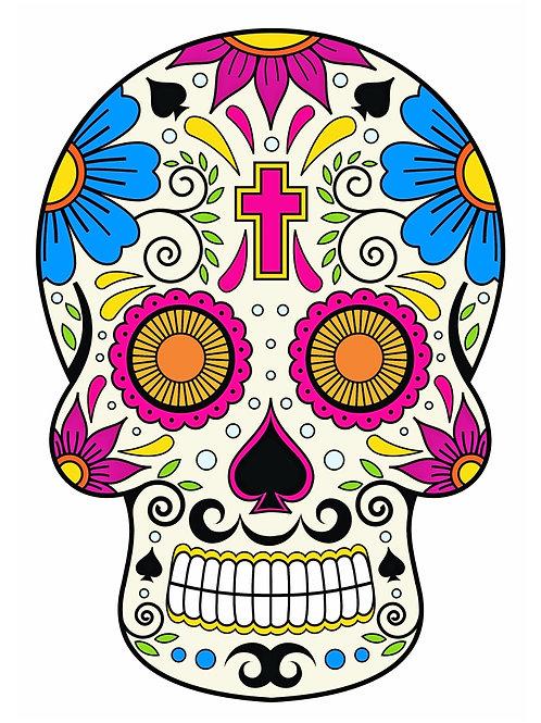 Sugar Skull Tattoo-12
