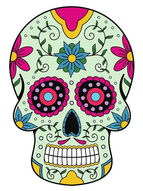 Sugar Skull Tattoo-63