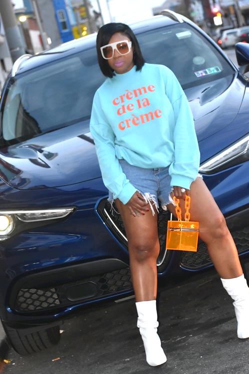 Cre'me de la  Cre'me Sweatshirt