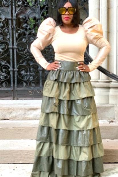 Ruffle Me Maxi Skirt