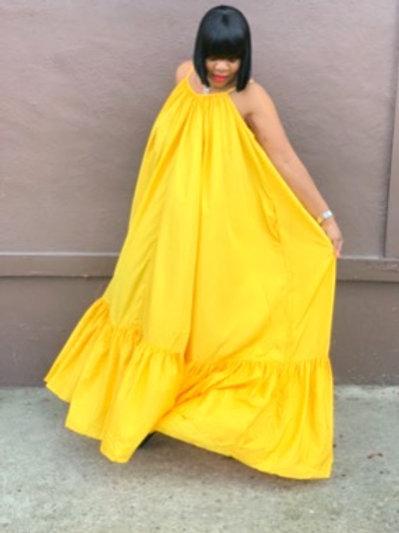 """""""Sunshine"""" Oversized Maxi Dress"""