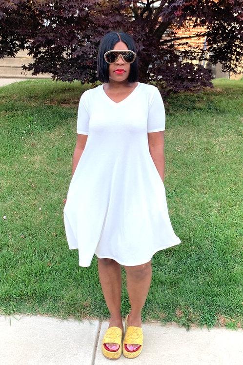 V-Neck Mollie Dress