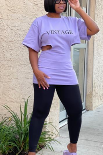 Vintage Top (Lavender)