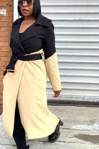 """Boss Lady"" Trench Coat"