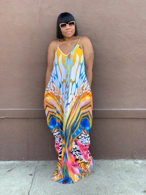 """""""Jungle"""" Maxi Dress"""