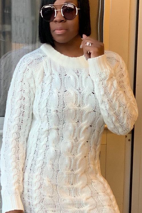 Donna Sweater Mini Dress