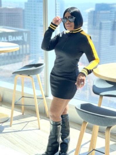"""""""Steelers"""" Mini Dress"""