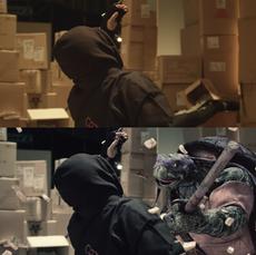 Ninja Turtles: Veterans of the Night - Shot