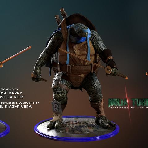 Ninja Turtles: Veterans of the Night - Leonardo