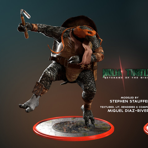 Ninja Turtles: Veterans of the Night - Michelangelo