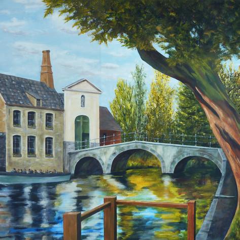 Brugge Minnewater en begeinhof