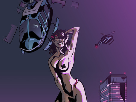 X-Men Character Monet, from Marvel Comics