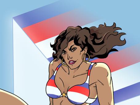 America Chavez from Marvel Comics