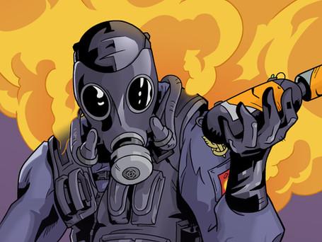 Smoke from Ubisoft's Rainbow 6 Siege
