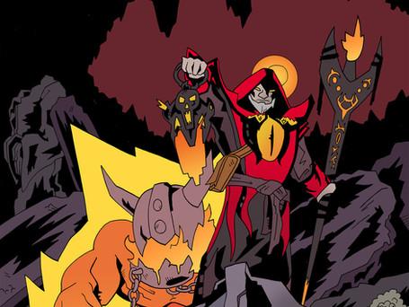 The Warlock hero from Dota 2