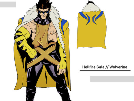 Hellfire Gala Costume Design for Wolverine from Marvel's