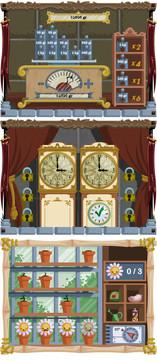 Interfaces for Naraba (game)