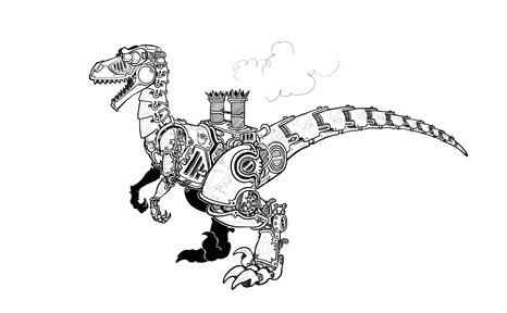 Velociraptor victoriano