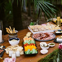 Seed catering Table buffet