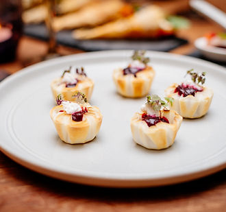 cocktail canape menu seed catering and events