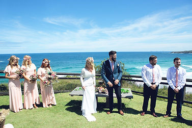 bridal party destination wedding