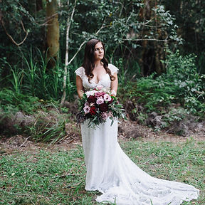 brides wedding dress catering port macquarie