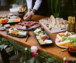 wedding catering table buffet